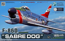 Avion de chasse US. NORTH AMERICAN F-86D, 1953 - KIT KITTY-HAWK 1/32 N° 32007