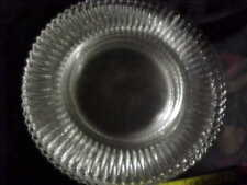BEAUTIFUL ELEGANT GLASS 10 IN DINNER PLATES,FOSTORIA, CAMBRIDGE, GROUND ,7 avai