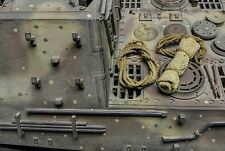 Custom Make 1:16 String & bedroll Stowage parts Fit for German WWII Tank