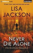 Never Die Alone by Lisa Jackson  CD Audio Book