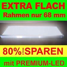 Premium Flat LED Leuchtkasten 2000x1000mm Tiefe 68mm Leuchtalarm Leuchtwerbung
