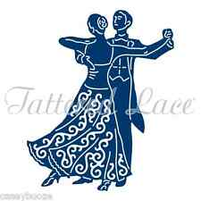 Tattered Lace Cutting Die - Ballroom Couple - Dancing - D1353 - New Out