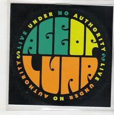 (GQ971) The Age Of L.U.N.A., Six Feet Deep - DJ CD