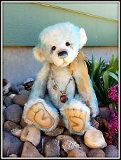 "Retired Charlie Bears ""Wordsworth"" Mohair Teddy Bear RARE ~ Limited Edition 15"""