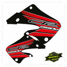 HONDA 1999 RADIATOR SHROUD CR250 MOTOCROSS MX GRAPHICS DECALS STICKERS