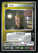STAR TREK CCG THE BORG RARE CARD FENNIM