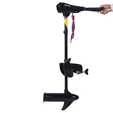 "Outsunny 36lb Thrust 30"" Shaft Freshwater Transom Mounted Boat Trolling Motor"