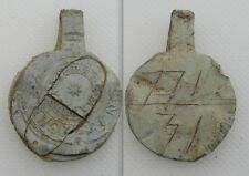 Collectable 18th Century Lead Bag Cloth Seal