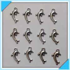 12 Dolphin / Whale Ocean Animal Kid Charms Earrings Bracelet ~Jewelry Making W7