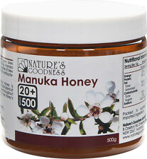 Nature's Goodness Active Manuka Honey UMF 20+ 500g MGO 500