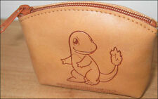 Pokemon Charmander Brown Leather Wallet/Coin Purse Bag Nintendo Game Freak NEW!!