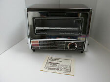VINTAGE ROBESON DELUXE TOASTER OVEN, COMPACT, 800W MODEL 03-1803-59 NWOB