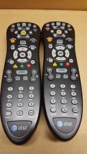 Lot of 2 At&t Uverse Multi-Function Universal remotes - used (S10)