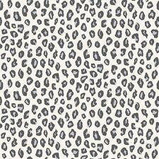 RASCH LEOPARD PRINT ANIMAL SKIN  SPOTS DOTS GLITTER MOTIF WALLPAPER  GREY BLACK