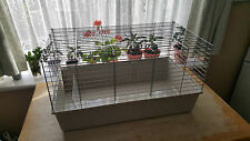 Rabbit Indoor Cage Rat Mouse Guinea Pig Gerbil Small Animals Rat Mouse Grey