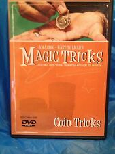 Amazing Easy to Learn Magic Tricks:  Coin Tricks!  DVD Only - Use Regular Coins