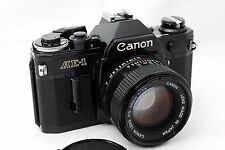 [Near MINT] Canon AE-1 35mm Film Camera body + New FD 50mm f/1.4 Lens From Japan