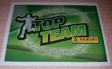 AGGIORNAMENTO FIGURINE CALCIATORI PANINI 2008/09 TOP TEAM ALBUM