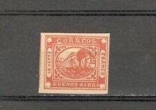 R1608 - ARGENTINA 1858 - BUENOS AIRES - N. 3 - MARGINI INTATTI - VEDI FOTO