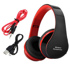 Foldable Wireless Stereo Bluetooth Headphone Headset Earphone For iPhone Samsung