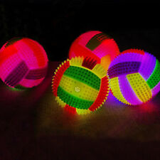 6.5CM Baby Kids Light-up Toy Volleyball Sound Messager Children Luminous Toy