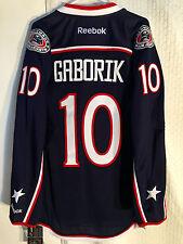 Reebok Premier NHL Jersey Columbus Blue Jackets Gaborik Navy sz M