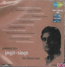 JAGJIT SINGH - GREATEST HITS - HIS FINEST EVER - BOLLYWOOD SARE GAMA 2CDs SET