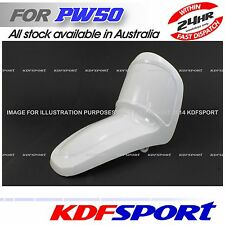 KDF YAMAHA PW50 PY50 PLASTIC COVER WHITE FENDER PEEWEE PYPW 50 FRONT WHEEL PLATE