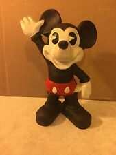 "Mickey Mouse Cast Iron Piggy Bank  9"" Tall"
