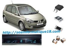 Renault Scenic 2 dash instrument panel cluster digital display repair kit