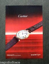 [GCG]  N943 - Advertising Pubblicità - 1985 - CARTIER , COLLEZIONE LOUIS CARTIER