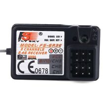 New FS-GR3E 2.4Ghz 3-Channel Receiver for Rc Car Auto Boat DP