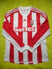 4.8/5 Stoke City FORMOTION 2012/2013 HOME ADIDAS ORIGINAL JERSEY SHIRT