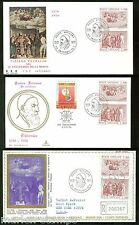 VATICAN CITY  TITIAN SCOTT#590/91  LOT OF 4  FIRST DAY COVERS & 4 MAXIMUM CARDS