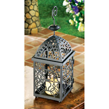 MOROCCAN STYLE BIRDCAGE CANDLE HOLDER LANTERN DECOR NEW~13175