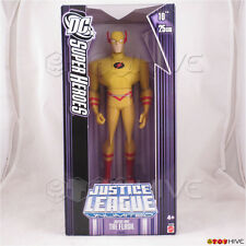 Justice League Unlimited Lord Flash 10 inch vinyl figure DC JLU purple box