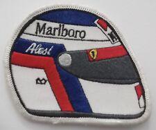 Aufnäher Jean ALESI F1 Motorsport Ferrari Helm Marlboro Patch Rennanzug Overall