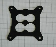 """HOLLEY 100-18 INSULATING 1/8"""" SPACER-GASKET INTAKE TO CARB 1 3/4"""" BORE"""
