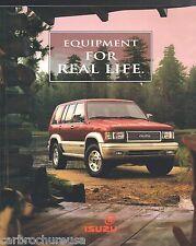 1996 ISUZU TROOPER / RODEO Catalog / Brochure: S, LS,