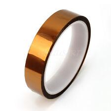 20mmx30,48mt Rotolo Tape Nastro Adesivo Kapton Alta temperatura Colore Ambra