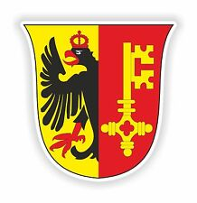 Geneva Swiss Coat of arms Sticker for Door Motorcycle Car Truck Caravan Book PC