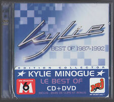 KYLIE MINOGUE BEST OF 1987/1992 CD/DVD FRENCH NEUF SOUS BLISTER SEALED TRES RARE