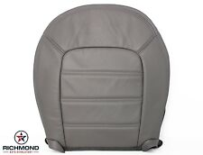 2004 Ford Explorer XLT XLS -Driver Bottom Replacement Leather Seat Cover Gray