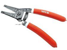 Abisolierzange Entmanteler 22 - 10 AWG Kabelmesser Elektriker Zange 0,64-2,6 mm²