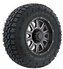 4 NEW TIRE(S) LT285/70R17 121/118Q THUNDERER M/T R408 E/10 BW 2857017 MUD TIRES