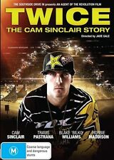 Twice - The Cam Sinclair Story DVD New/Sealed Region 4