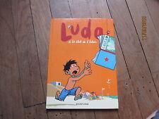 ALBUM BD LUDO 5 club de l eclair bailly mathy lapiere eo 2002 dupuis