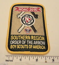 Restricted Centennial 2015 NOAC Southern Region Commemorative Patch