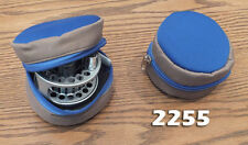 Fly Fishing  Reel Storage Zippered Case - Neoprene Protective Cover #2255