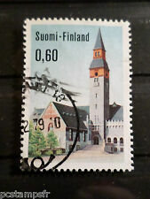 FINLANDE FINLAND, 1973, timbre 684, MUSEE NATIONAL, oblitéré, VF used stamp
